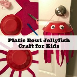 Adorable Jellyfish Preschool Craft Tutorial & Jellyfish Facts Kids Will Love
