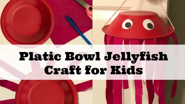 Adorable Jellyfish Preschool Craft Tutorial & Jellyfish Facts Kids Will Love