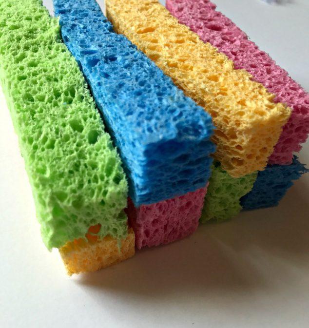 Homemade Sponge Balls