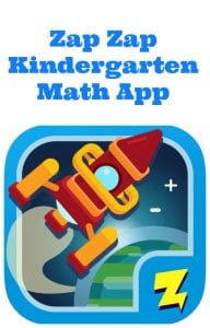Zap Zap Math Launches A Brand New Kindergarten Math App!