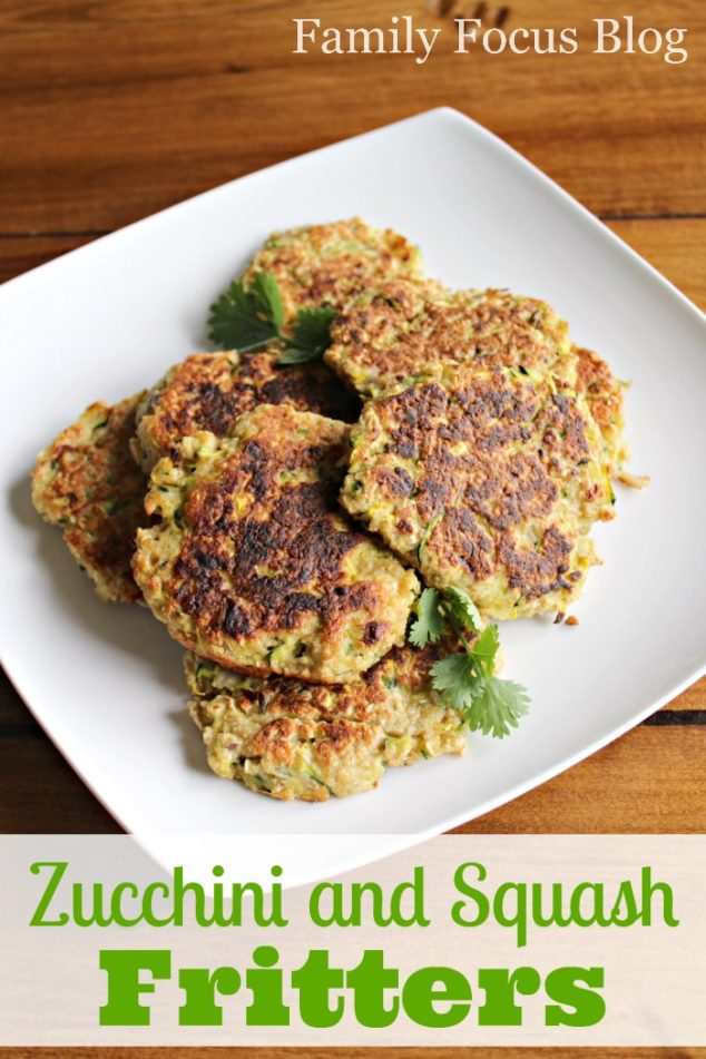 Zucchini and Squash Fritters