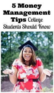 Money Management Tips College Students Should Learn