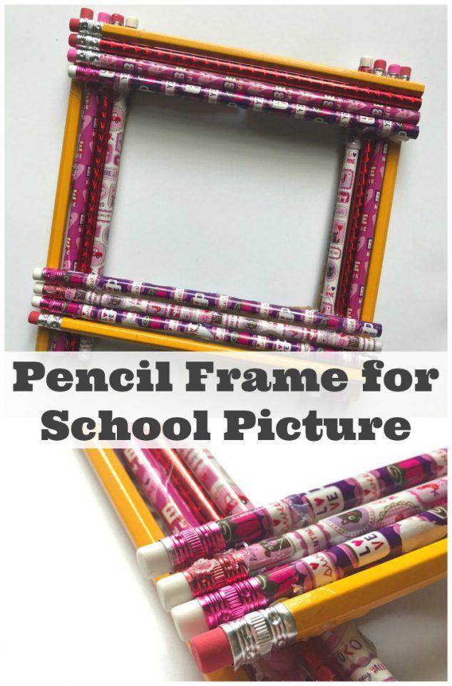 diy pencil frame