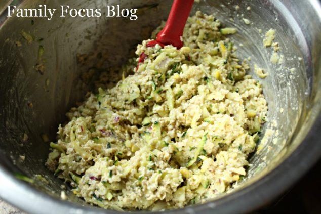 Zucchini and Squash Fritters Recipe