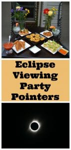 Eclipse Viewing Party Pointers
