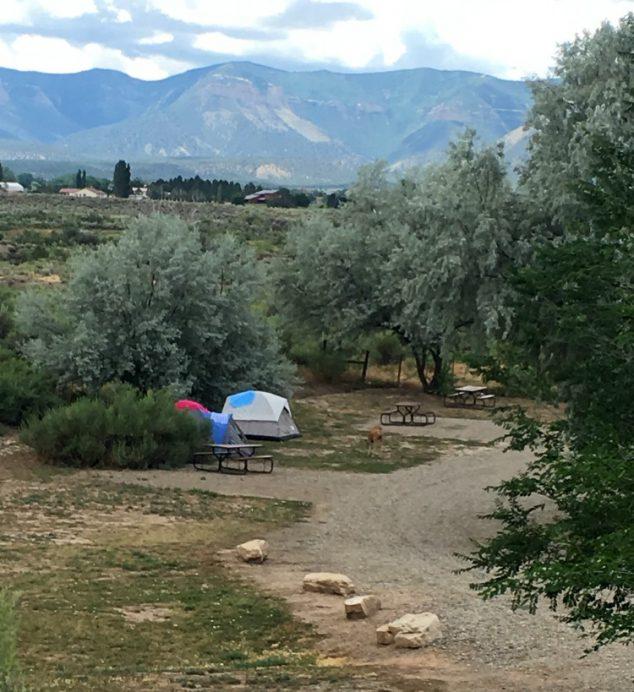 camping near mesa verde