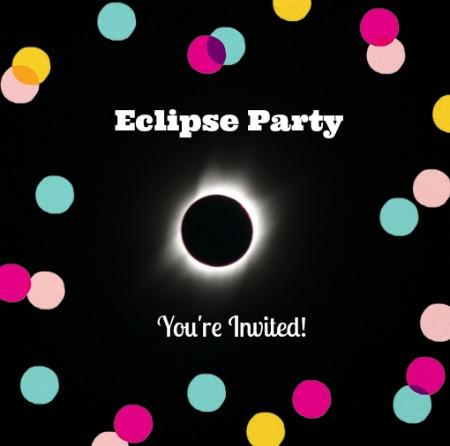 eclipse party invite