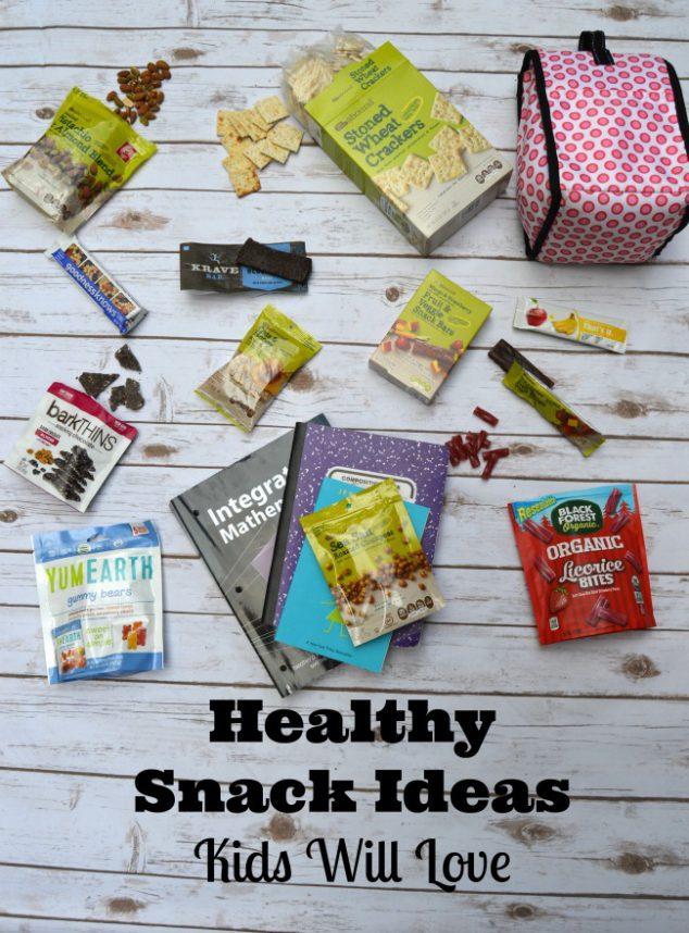 healthy snack ideas kids