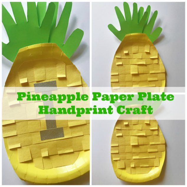 pineapple crafts kids