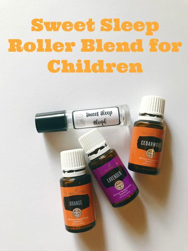 essential oils sleep recipe