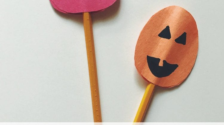 Construction Paper Crafts: How To Make Fall Pencil Toppers