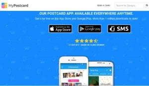 This Photo Postcard App Lets You Design Your Own Postcard!