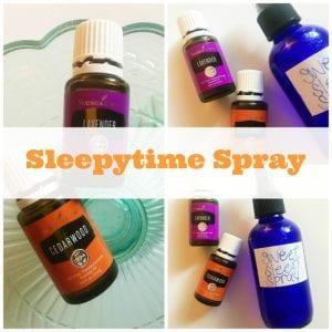 DIY Lavender Pillow Spray For Children