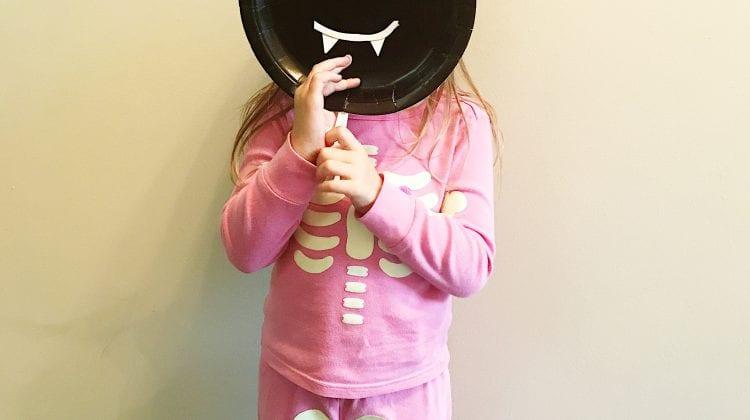Halloween Paper Plate Masks Tutorial