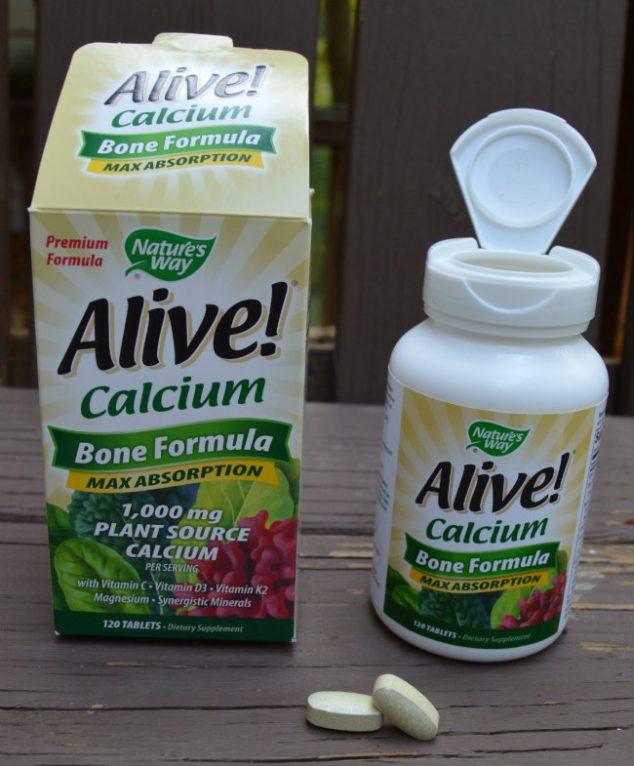 Natures Way Alive Calcium
