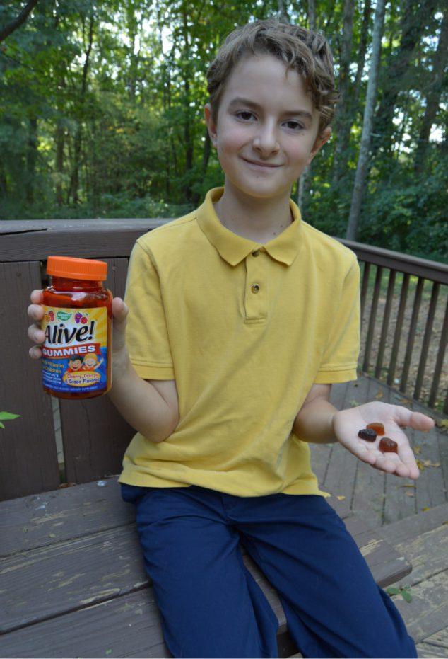 Natures Way Alive Kids Gummies