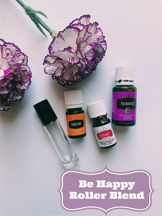 How To Make Be Happy Essential Oil Roller Bottles Family