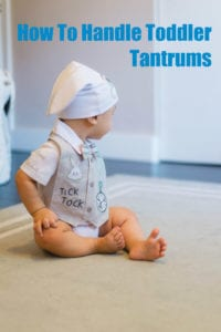 How To Handle Toddler Tantrums And Keep Your Sanity