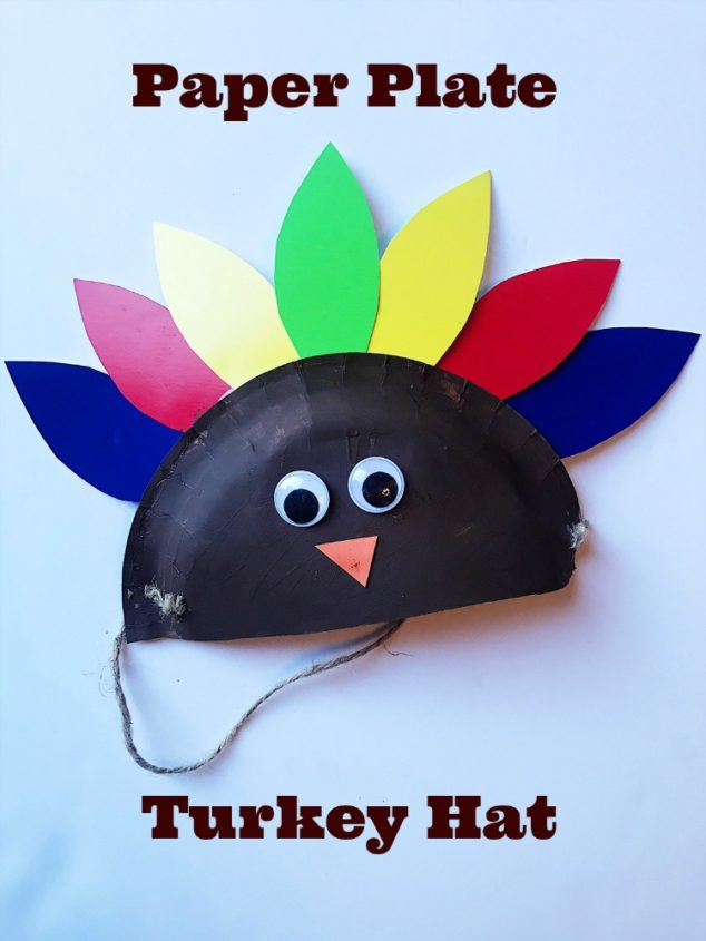 paper plate turkey craft & Try This Darling Paper Plate Turkey Craft To Keep The Kids Busy ...