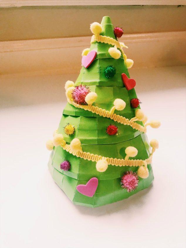 Paper Plate Christmas Tree
