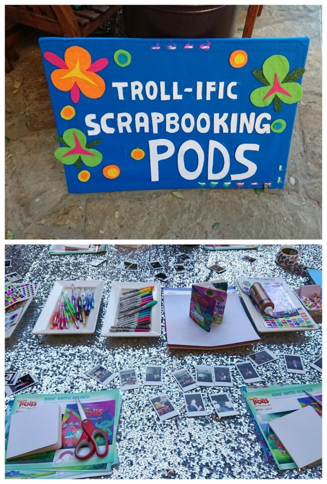 Troll Party Crafts