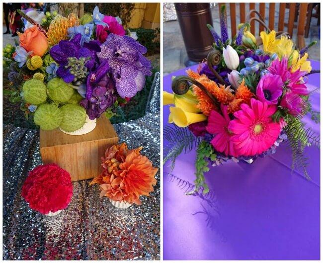 Trolls Party Flowers