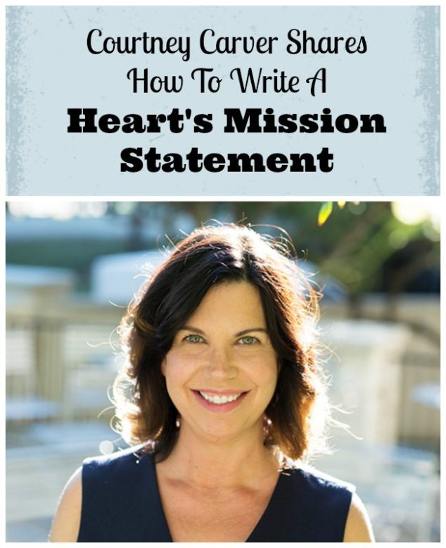 Write Personal Mission Statement