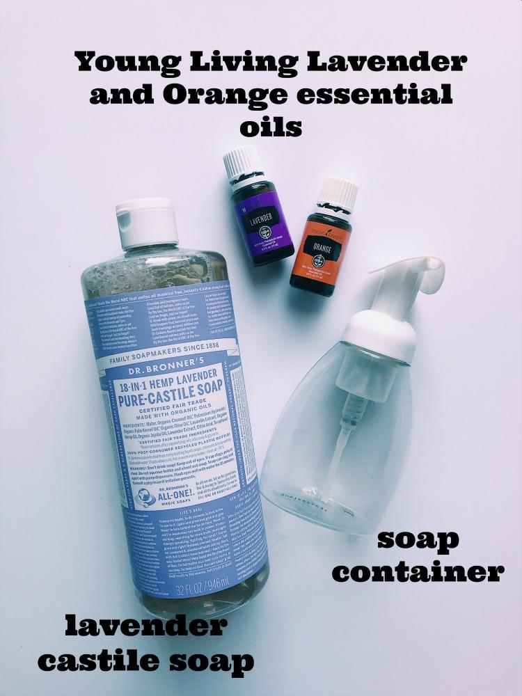 Easy Moisturizing DIY Liquid Soap | Family Focus Blog
