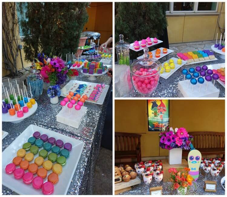Trolls Birthday Party Ideas Rainbow Sparkly Fun