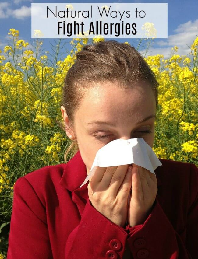 Natural Ways To Treat Allergies