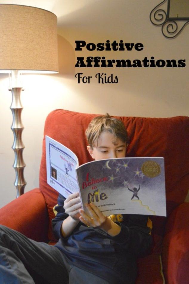 Positive Affirmations Kids