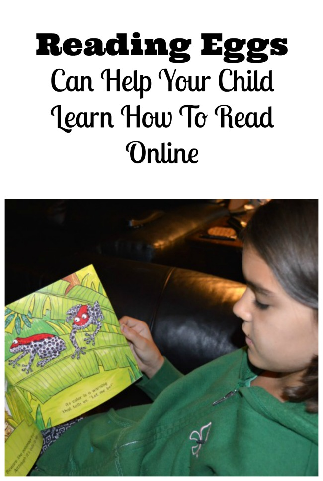 Learn How To Read Online With Reading Eggs For Kids