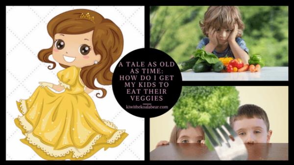 get kids eat vegetables