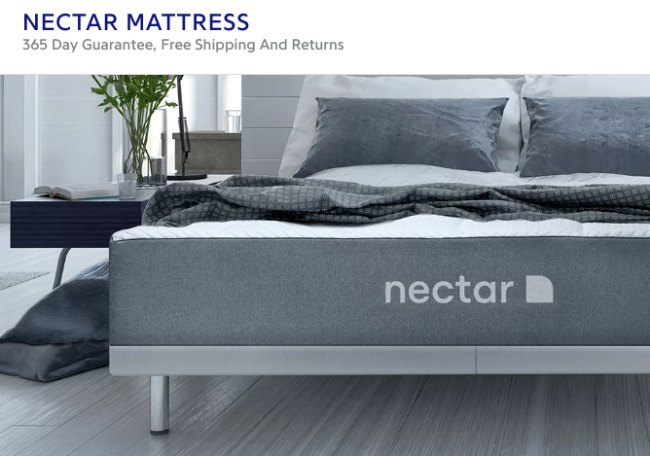 Nectar bed, memory foam mattress companies