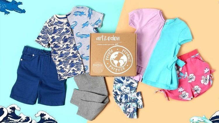 Organic Children's Clothing From Art And Eden