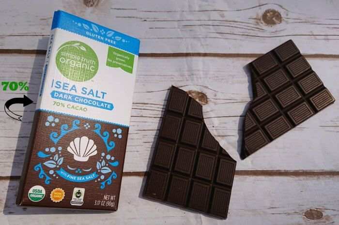 why is dark cholat healthier than Dark chocolate is far more filling than milk chocolate, lessening our craving for sweet, salty and fatty foods, according to new research in other words, eating dark chocolate may be an efficient .