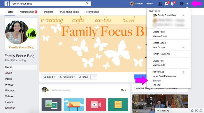 Change Privacy Settings Facebook