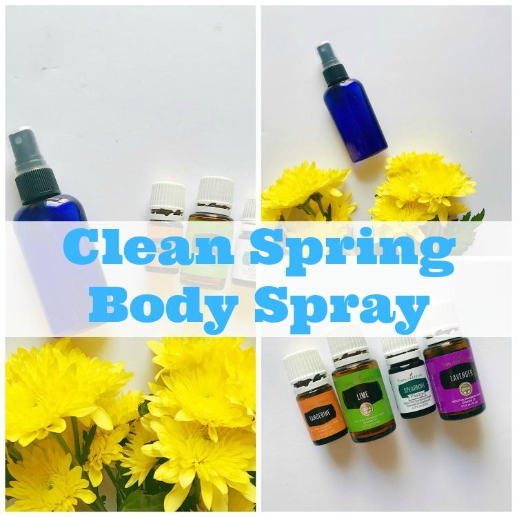 homemade body spray