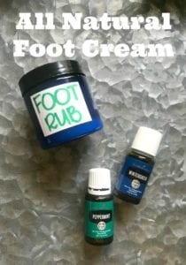 Homemade Foot Cream Recipe- All Natural And Cooling