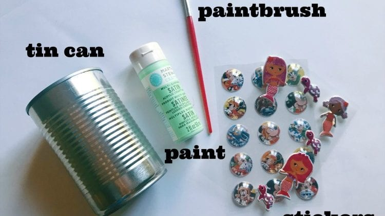 How to Make A Flower Vase Out Of A Tin Can