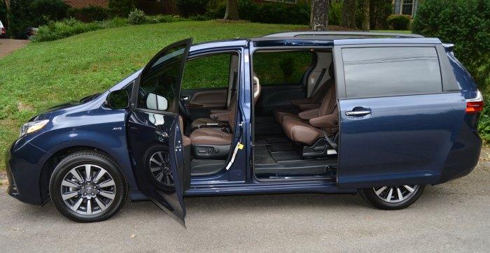2018 toyota sienna minivan