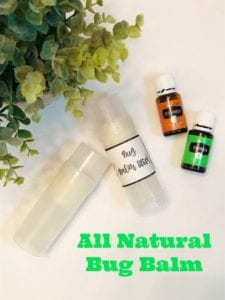 Make Your Own All Natural Bug Balm