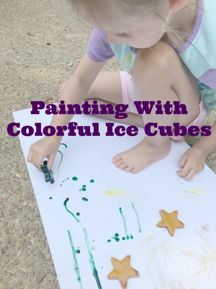 Painting With Ice Cubes