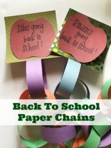 Back To School Craft: How To Make A Paper Countdown