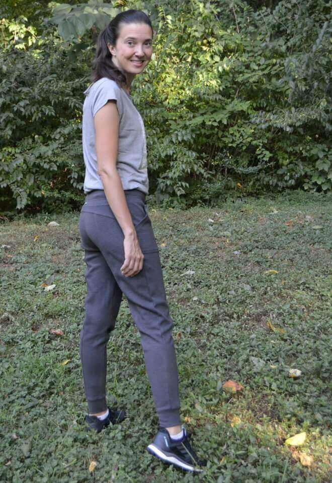 Front: prAna Longline T-Shirt And Utility Pant