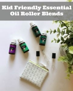 Kid Friendly Essential Oil Blend Recipes