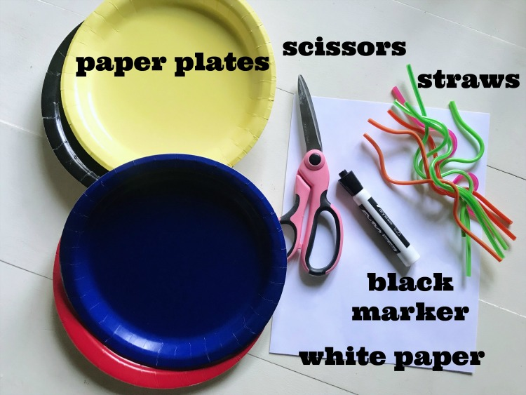 paper plate monsters craft