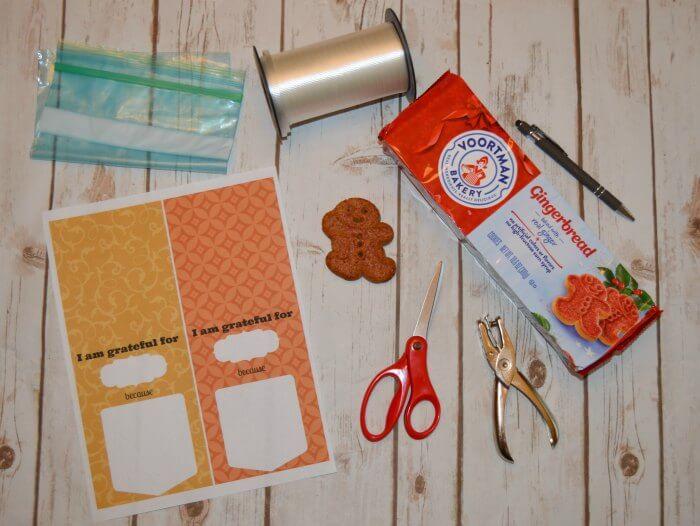 Easy Gratitude Craft Supplies