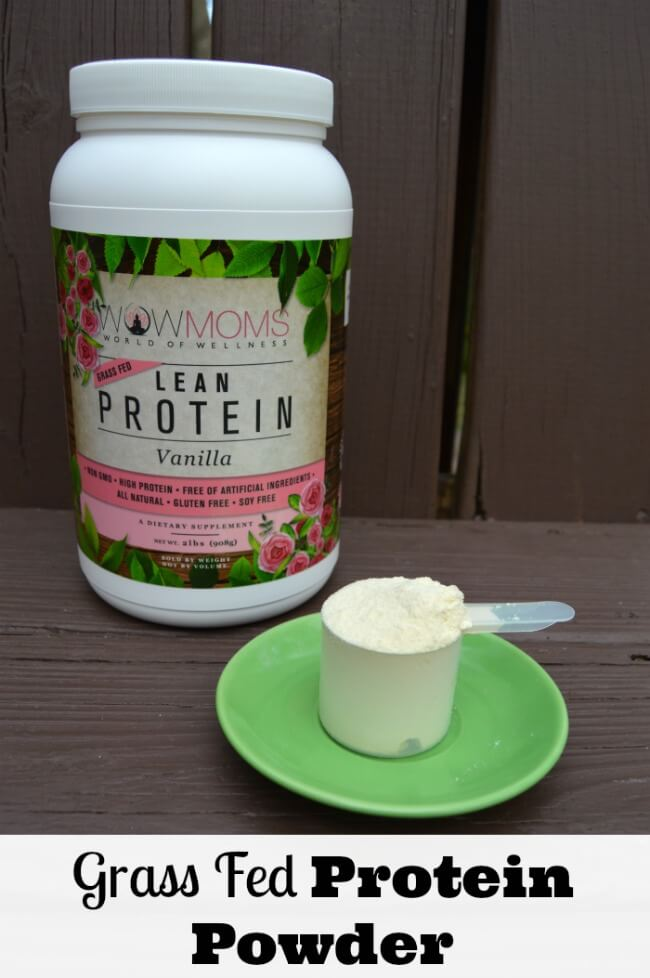 Grass Fed Protein Powder