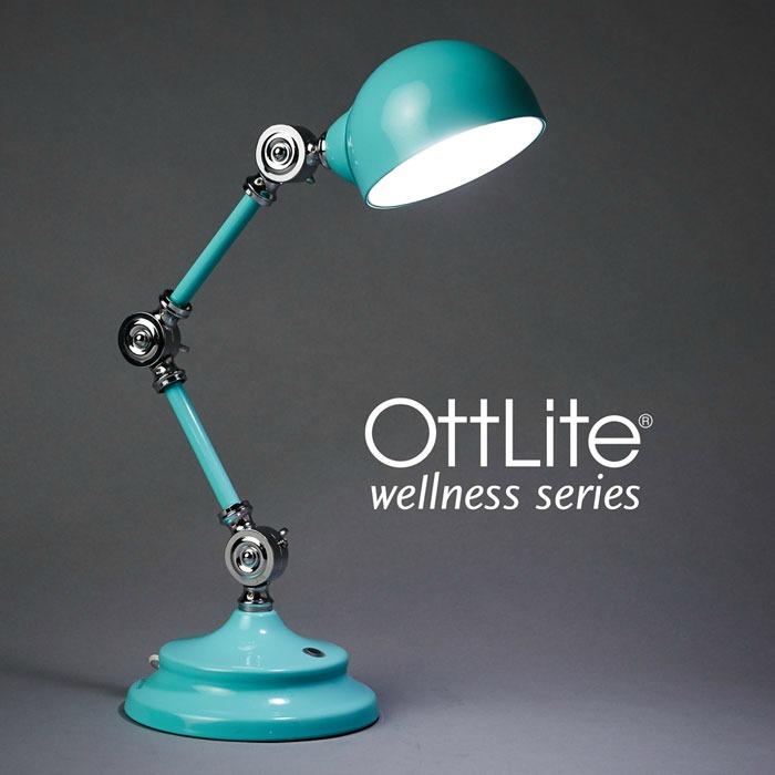 Ottlite Turquoise Desk Lamp
